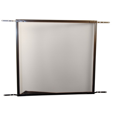 Picture of PL 15934 - Prime-Line Hinged Screen Door Grille, 30 to 36 inch, Aluminum, Bronze