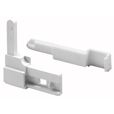 Picture of PL 15955 - Prime-Line Sears Screen Corner Latch, 2-15/16 inch, Plastic, White, Left