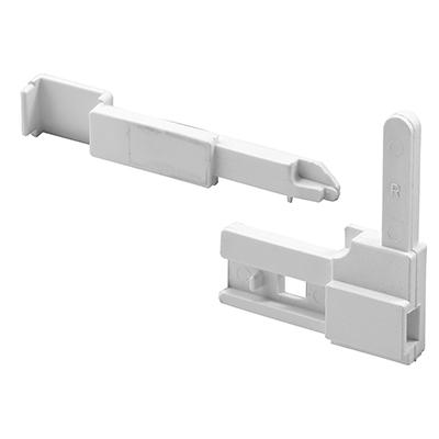 Picture of PL 15956 - Prime-Line Sears Screen Corner Latch, 2-15/16 inch, Plastic, White, Right