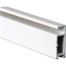 Picture of PL 15976 - Prime-Line 5/16 inch Extruded Aluminum Screen Frame, .038, White, 96 inch long
