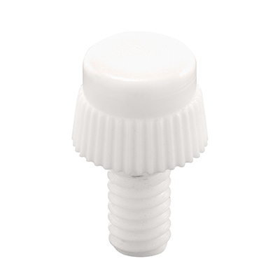 Picture of PL 7944 - Prime-Line 5/16 inch Storm Clip Thumbscrews, White Nylon, 8 per card