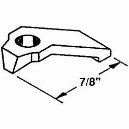 Picture of PL 7965 - Prime-Line 7/8 inch Storm Door Panel Clips, Aluminum, Mill, 8 per card