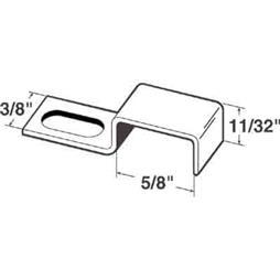 "Picture of PL 14689 - Screen Stretch Clips,  5/8"", Aluminum, Qty: 25 w/Screws"