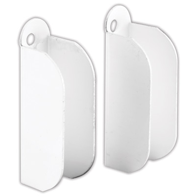 Picture of PL 8106 - Prime-Line 3/8 inch Screen Frame Top Hanger, Stamped Aluminum, White