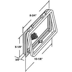 Picture of PL 14699 - Prime-Line Screen Wicket for Casement Windows, Bronze Plastic