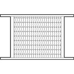 Picture of PL 15505 - Prime-Line Hinged Screen Door Grille, 32 inch, Aluminum, Mill