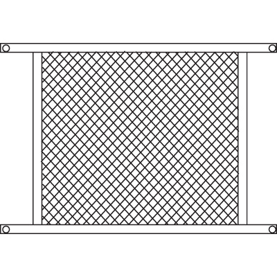 Picture of PL 15942 - Prime-Line Sliding Screen Door Grille, 48 inch, Aluminum, Bronze