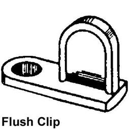 Picture of PL 14400 - FLUSH DIECAST SCREEN CLIP MILL 25EA