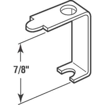 Picture of PL 7747 - Prime-Line Casement Screen Clips, 7/8 inch, Aluminum, 12 Clips w/Screws
