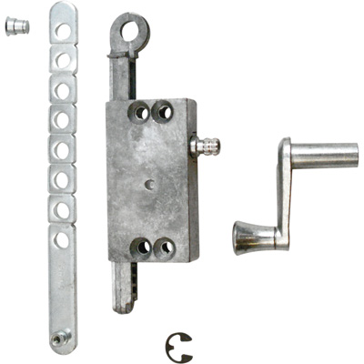Picture of R 7015 - LOUVRE WINDOW OPERATOR ASSEMBLY, SIDE MOUNT, DIECAST