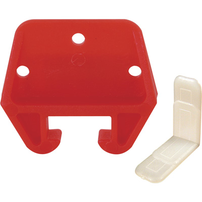 """Picture of CCBP 7156 - Bulk Red Nylon Drawer Guide Fits 9/32"""" x 3/4"""" Track"""