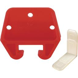 "Picture of R 7082 - Drawer Track Guide Kit, 25/32"", Plastic, Red"