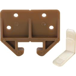 "Picture of R 7084 - Drawer Track Guide Kit, 29/32"", Plastic, Brown"