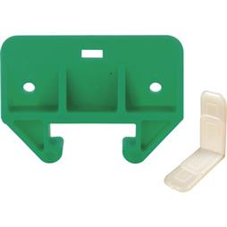 "Picture of R 7085 - Drawer Track Guide Kit, 1-1/8"", Plastic, Green/White"