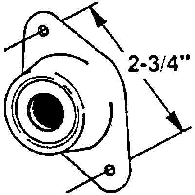 Picture of R 7238 - DOOR HOLDER ROD AND RETAINER, STEEL, WITH RUBBER INSERT