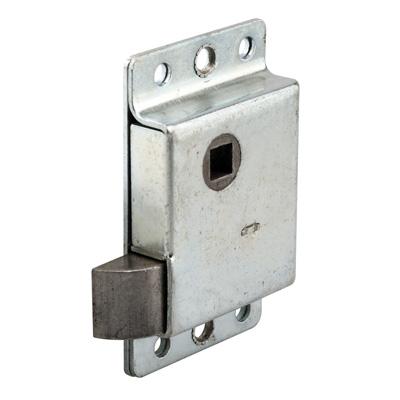Picture of R 7262 - DOOR SLAM LATCH, LEFT HAND, STAMPED STEEL, ZINC PLATED