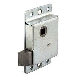 Picture of R 7262 - DOOR SLAM LATCH, LEFT HAND, STAMPED STEEL, ZINC PLATED