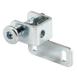 """Picture of S 4026 - Sliding Window """"Push-Bolt"""" Lock, 1"""", Steel, Spring-Loaded"""