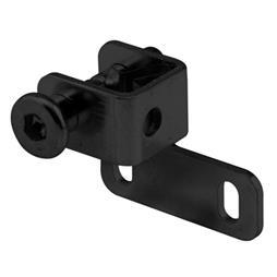 "Picture of S 4027 - Sliding Window ""push-bolt"" Lock (black)"