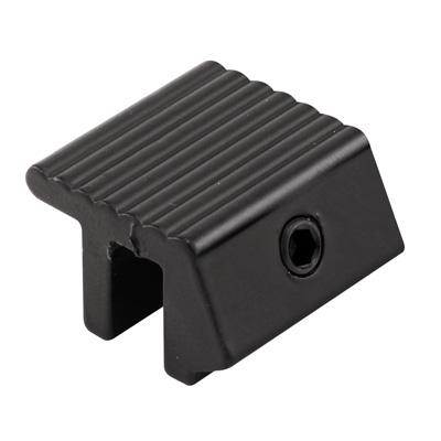 """Picture of S 4033 - """"tamper-proof"""" Sliding Wind Sash Lock (black)"""