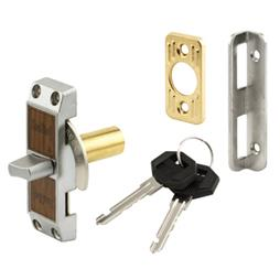 Picture of S 4060 - Deadbolt Loop Lock, with Key, Aluminum Finish