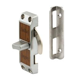 "Picture of S 4061 - Patio Door ""Loop Lock"", 2-3/4"", Steel / Diecast"