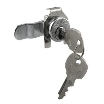 Picture of S 4310 - Mail Box Lock, Counter-Clockwise, 5 Pin, National, Nickel