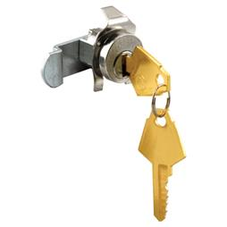 Picture of S 4313 - Mail Box Lock, Counter-Clockwise, Nickel
