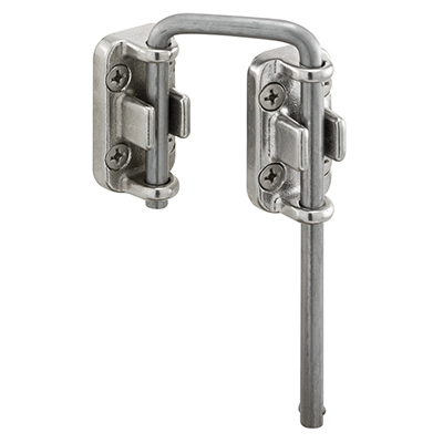 "Picture of S 4382 - Sliding Door Loop Lock, 1-7/16"", Stainless Steel"