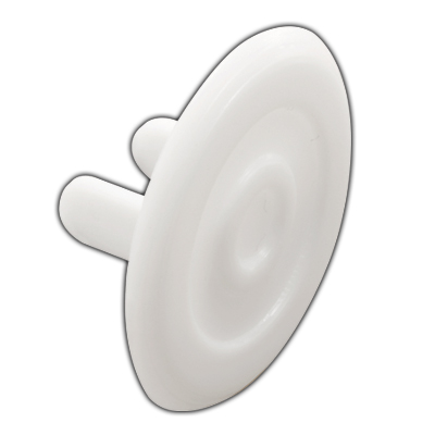 Picture of S 4551 - White Plastic Shock Guards