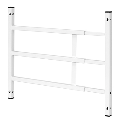 Picture of S 4748 - 15-3/4 in. x 23-1/2 in. x 15-1/2 in. Hardened Steel White Painted