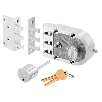 Picture of SE 14328 - Chrome Single Cylinder Slam Lock