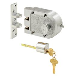 Picture of SE 15323 - Segal Single Cylinder Jimmy Proof Deadbolt Chrome Finish