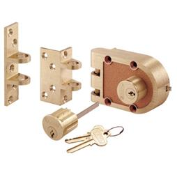 Picture of SE 19361 - Bronze Double Cylinder Deadlock