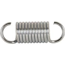 Picture of SP 9615 - Extension Spring, 3/4 inch x 2-1/4 inches x .105, Steel, Single Loop, Open, Pack of 2