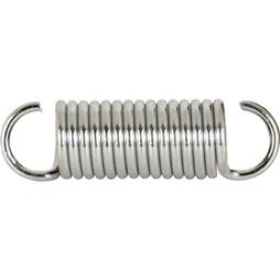 Picture of SP 9617 - Extension Spring, 3/4 inch x 2-5/8 inches x .105, Steel, Single Loop, Open, Pack of 2