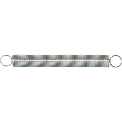 Picture of SP 9621 - Extension Spring, 15/32 inch x 4-1/2 inches x .041, Steel, Single Loop, Closed, Pack of 2