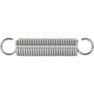 Picture of SP 9629 - Extension Spring, 1-1/4 inch x 6-1/2 inches x .162, Steel, Single Loop, Open, Pack of 1