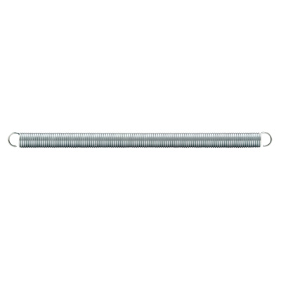 Picture of SP 9672 - Extension Spring, 3/8 inch x 6-1/2 inchesx .047, Steel, Single Loop, Open, Pack of 2