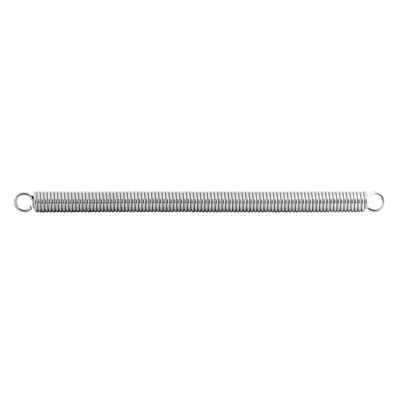 Picture of SP 9673 - Extension Spring, 3/8 inch x 6-3/4 inches x .062 Wire Diameter, Spring Steel, Single Loop, Closed, Pack of 1