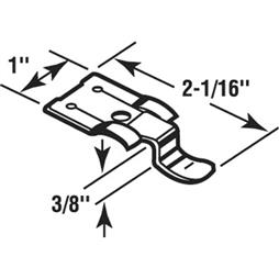 """Picture of PL 7969 - STORM WINDOW SNAP FASTENERS, 5/8"""", ZINC, 4/PKG"""