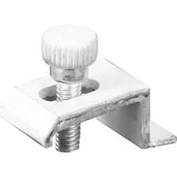 Picture of PL 7942 - Prime-Line Storm Door Panel Clips, 3/8 inch , Aluminum, White, 8 per card
