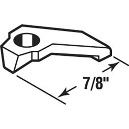 Picture of PL 14828 - Prime-Line 7/8 inch Storm Door Panel Clips, Aluminum, Mill, 25 per tub