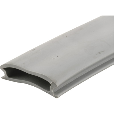 Picture of T 8700 - Threshold Insert for Entry Doors, Gray Vinyl, 37 inch Length, Snap-In Style