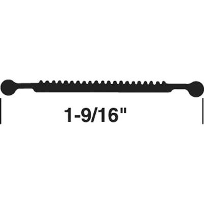 """Picture of T 8705 - DOOR THRESHOLD INSERT, 37"""", GRAY"""