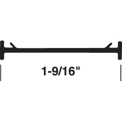 Picture of T 8710 - Door Threshold Insert,1-9/16 inches, 37 inches in Lenght, Gray, Pack of 1