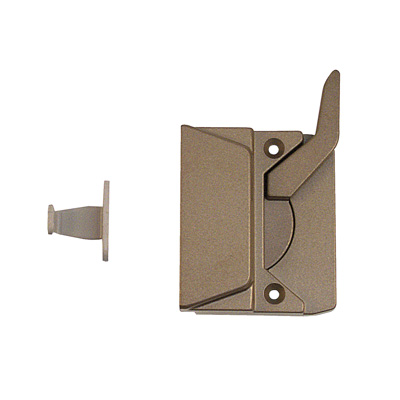 Picture of TH 23045 - EntryGard Sash Lock, Left Hand, Coppertone, Keeper & Screws, 1 per pkg.
