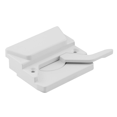 Picture of TH 23047 - EntryGard Sash Lock, Left Hand, White, Keeper & Screws, 1 per pkg.