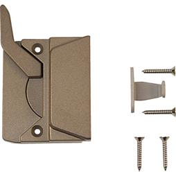 Picture of TH 23049 - EntryGard Sash Lock, Right Hand, Coppertone, Keeper & Screws, 1 per pkg.