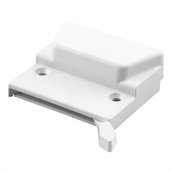 Picture of TH 23056 - Low Profile Sash Lock, Non- Handed, White, Keeper & Screws, 1 per pkg.
